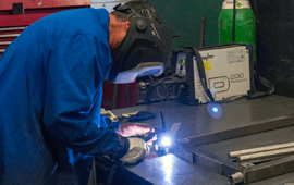 Smart manufacturing welding & fabrication